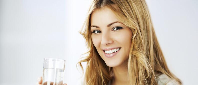 מים טובים לעור הפנים